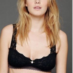 intimately free people balconette bralette sz XS